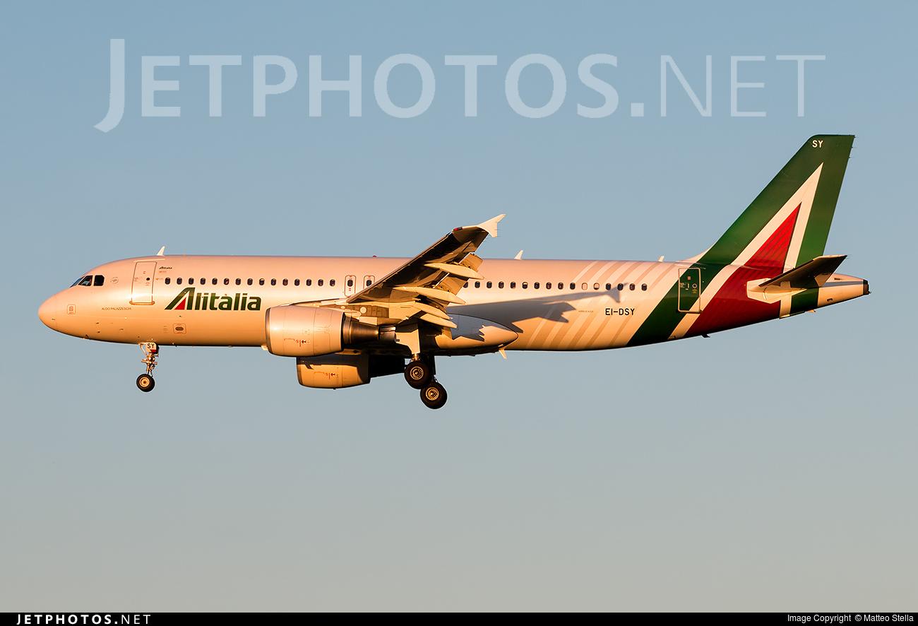 EI-DSY - Airbus A320-216 - Alitalia