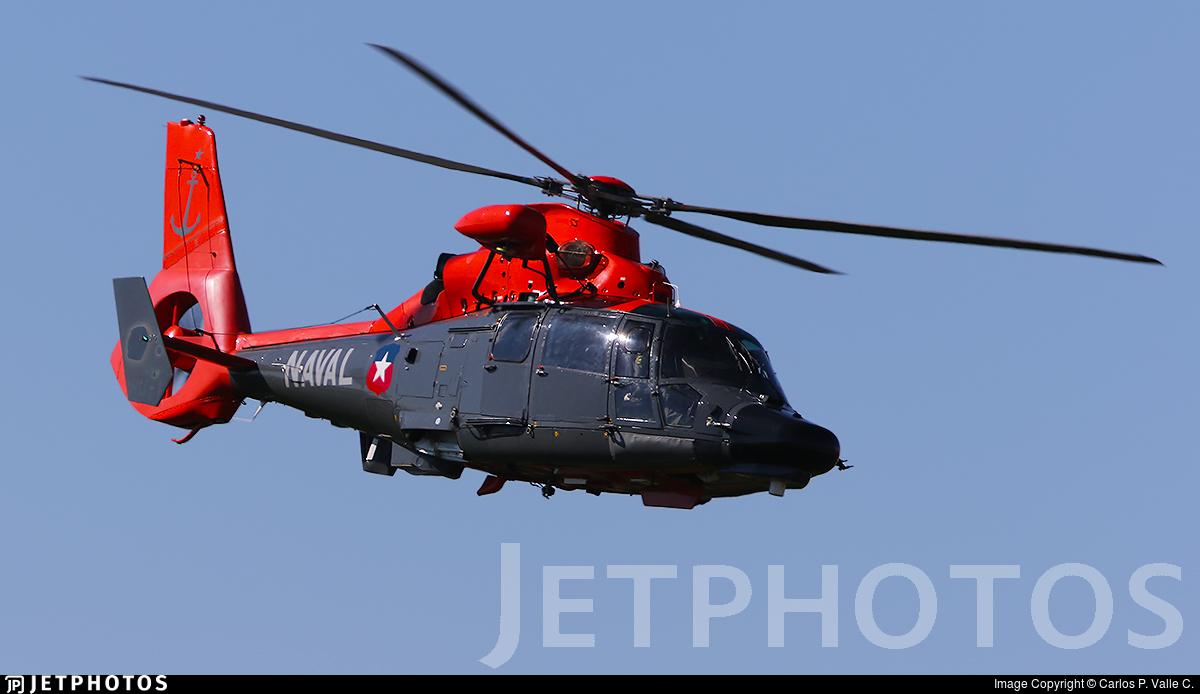51 - Aérospatiale SA 365F Dauphin 2 - Chile - Navy