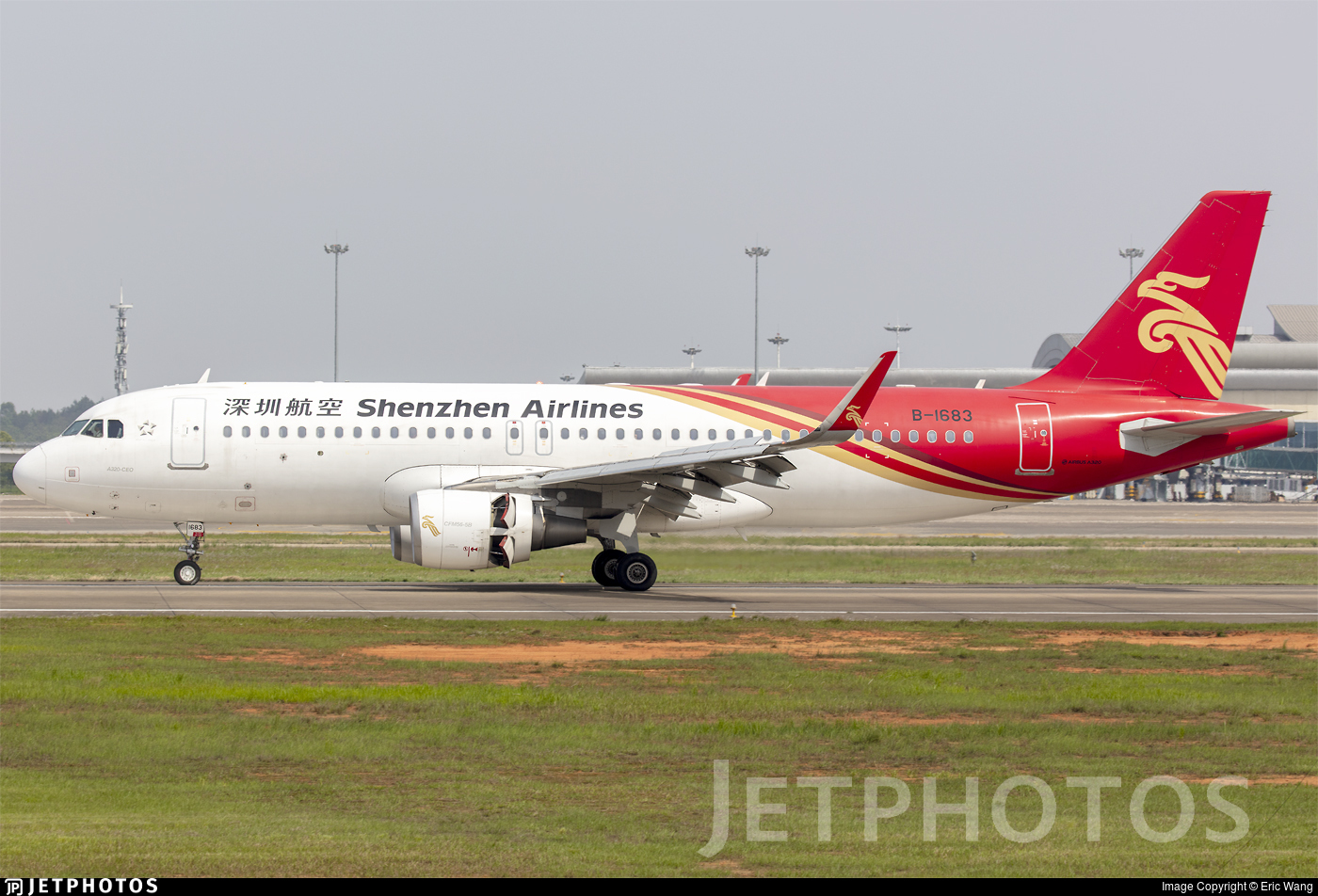 B-1683 - Airbus A320-214 - Shenzhen Airlines