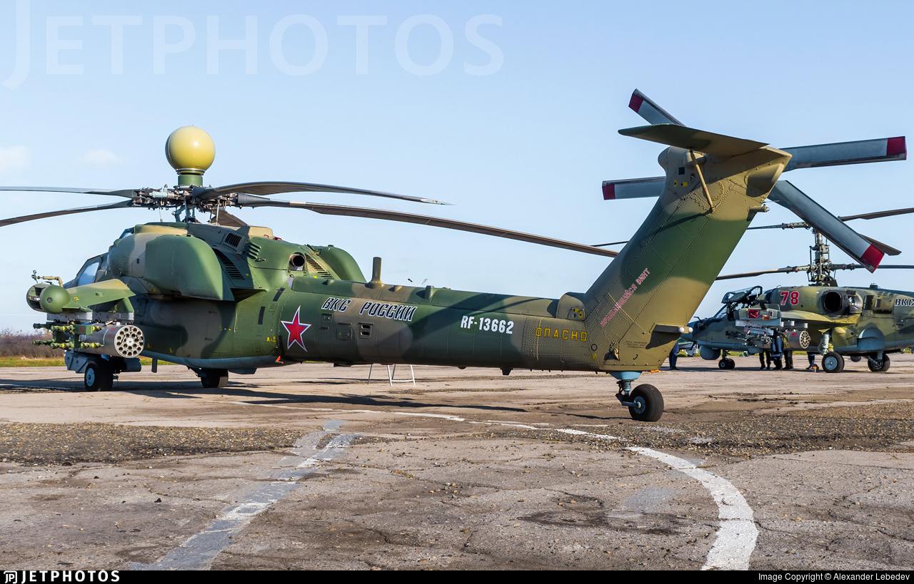 RF-13662 - Mil Mi-28UB Havoc - Russia - Air Force
