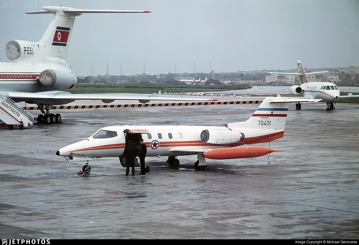 70401 - Gates Learjet 25B - Yugoslavia - Air Force