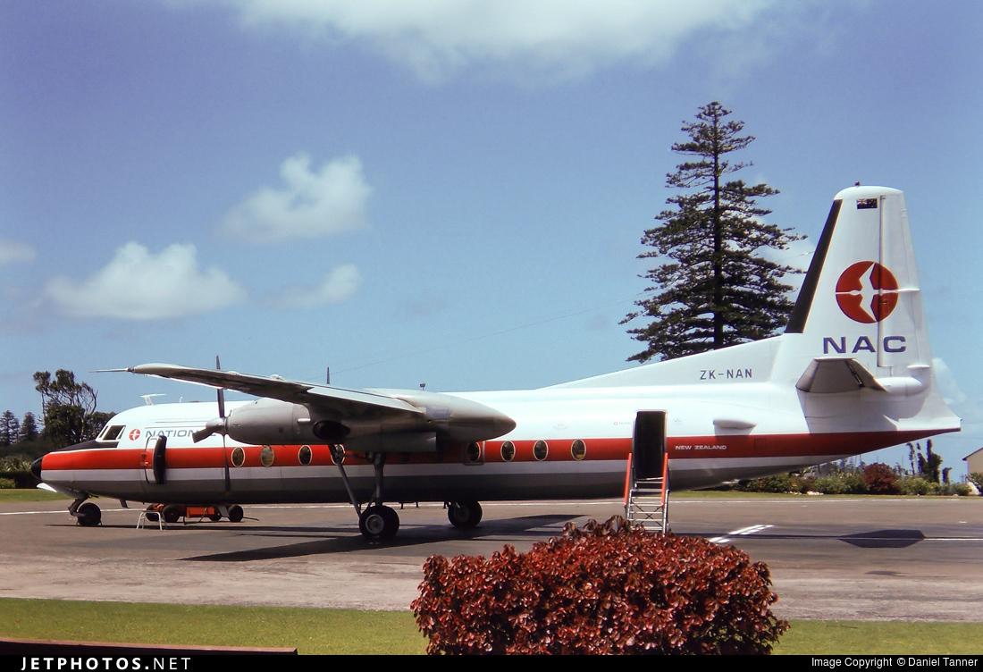 ZK-NAN - Fokker F27-500 Friendship - NAC Air