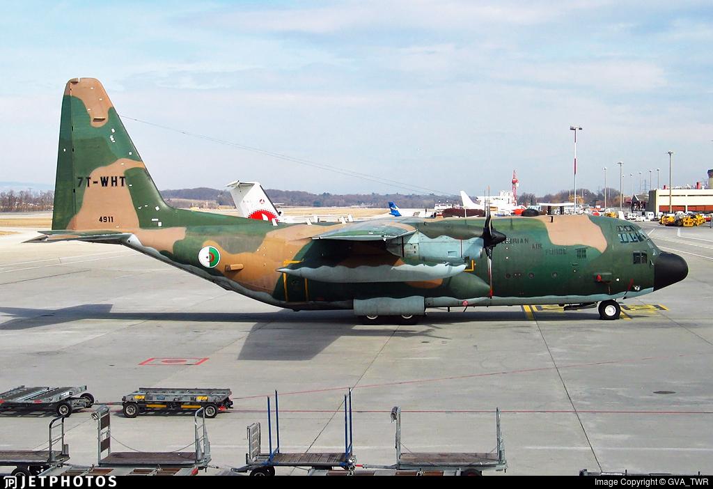 7T-WHT - Lockheed C-130H Hercules - Algeria - Air Force