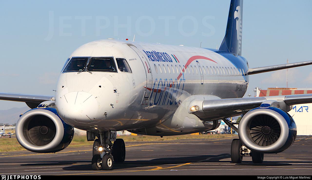 XA-CAC - Embraer 190-100IGW - Aeroméxico Connect