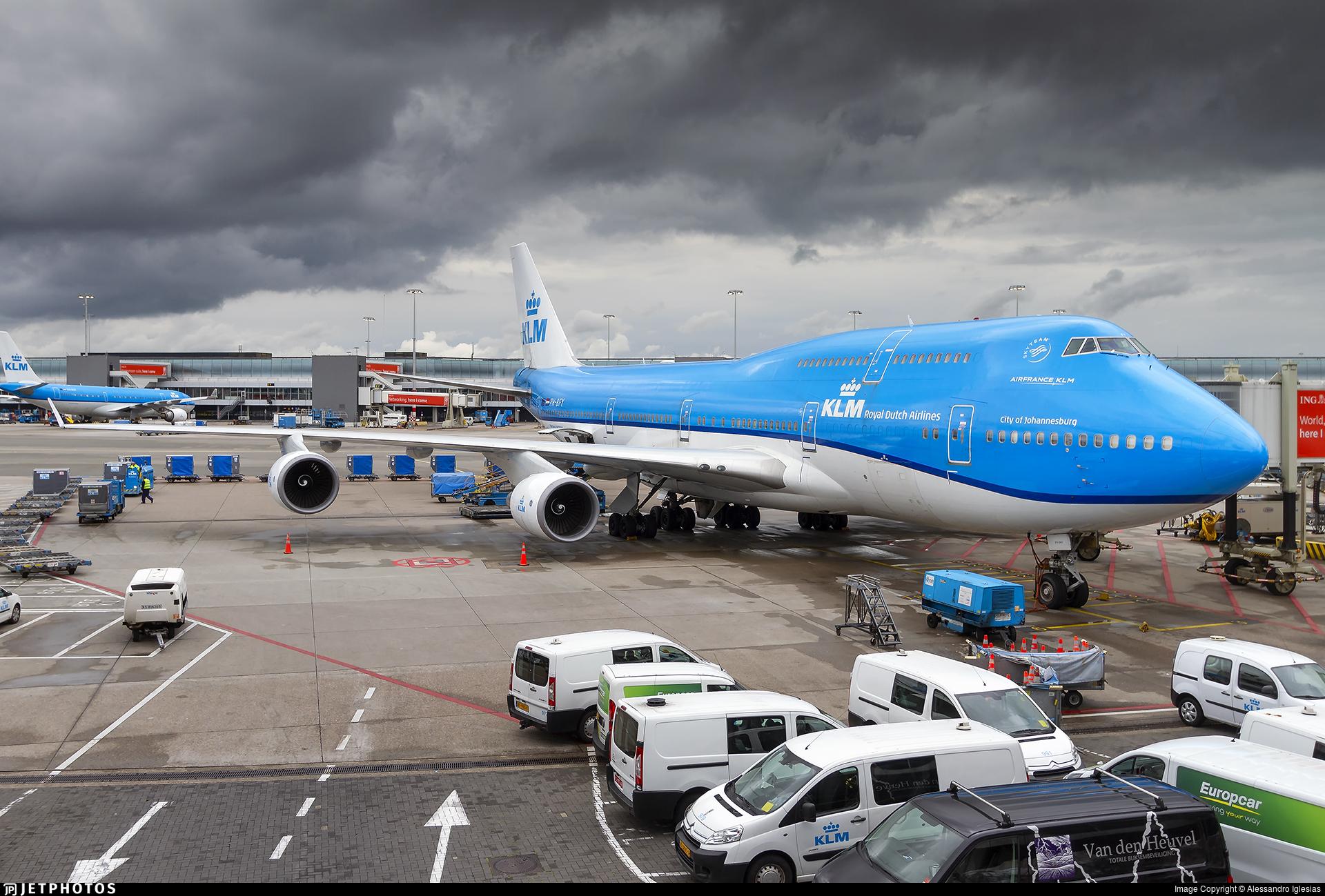 PH-BFY - Boeing 747-406(M) - KLM Royal Dutch Airlines