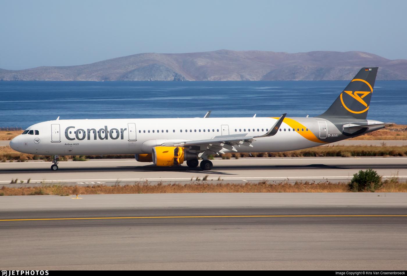 D-AIAI - Airbus A321-211 - Condor