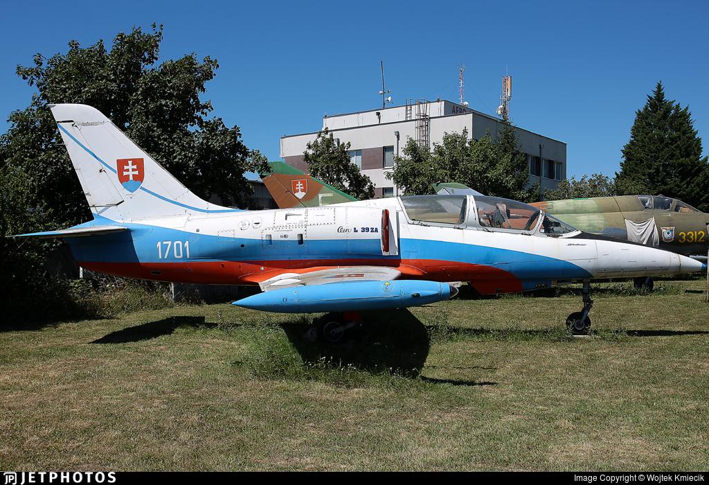 1701 - Aero L-39ZA Albatros - Slovakia - Air Force