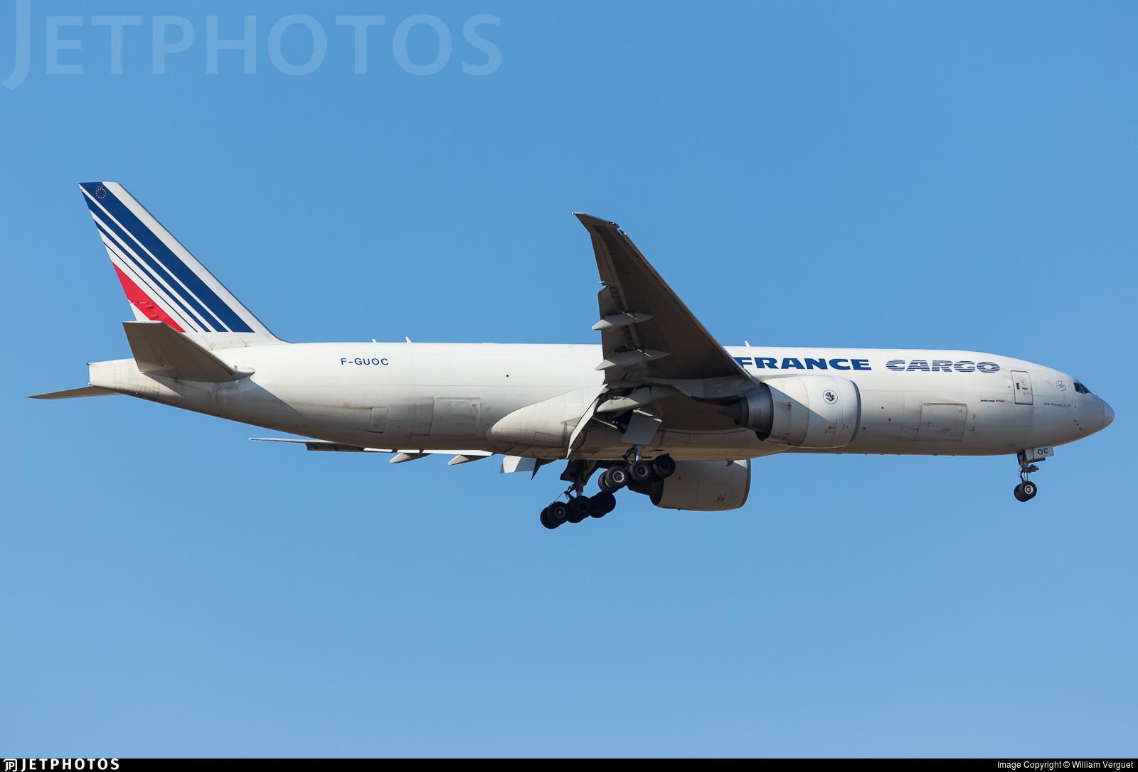 F-GUOC - Boeing 777-F28 - Air France Cargo