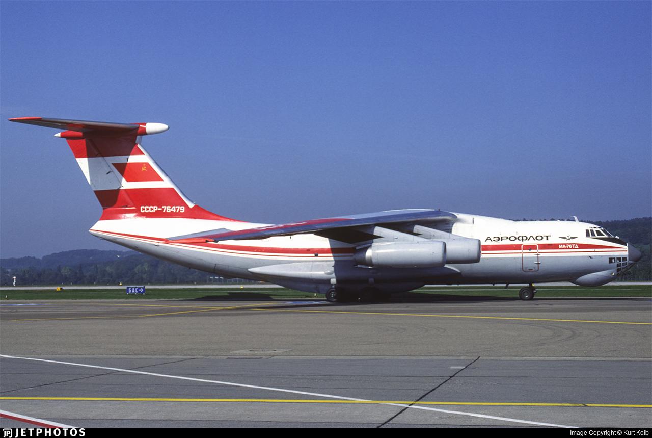 CCCP-76479 - Ilyushin IL-76TD - Aeroflot