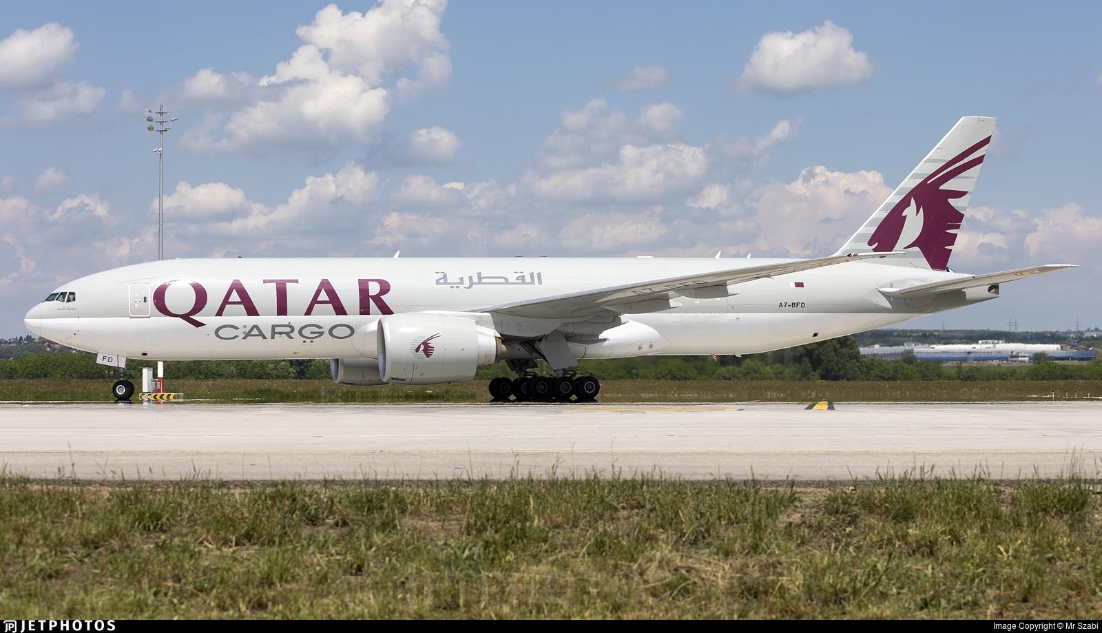 A7-BFD - Boeing 777-FDZ - Qatar Airways Cargo
