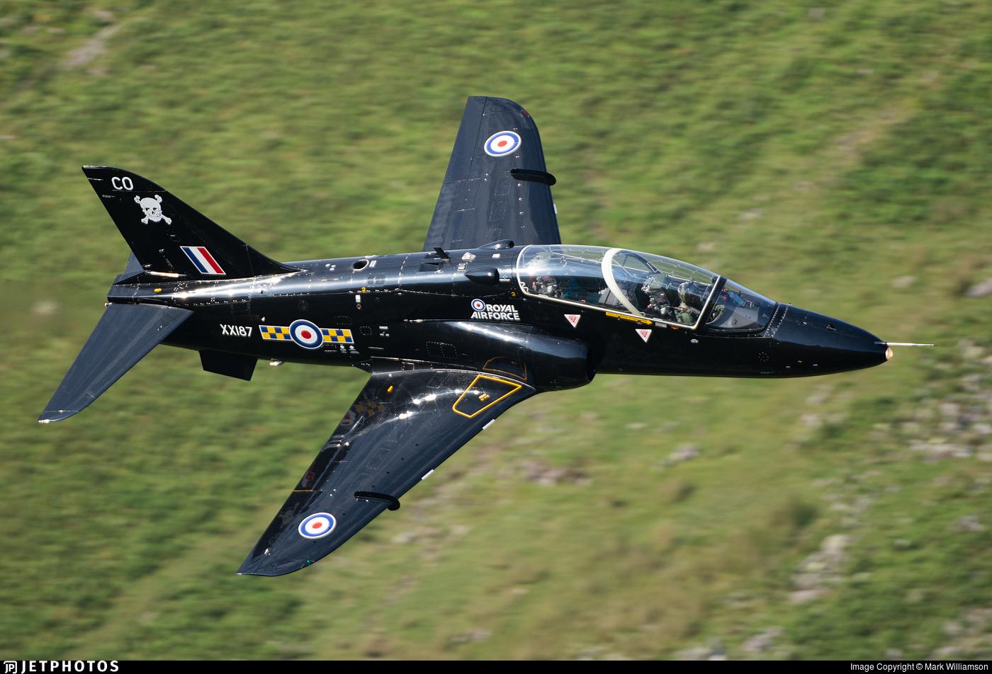XX187 - British Aerospace Hawk T.1A - United Kingdom - Royal Air Force (RAF)