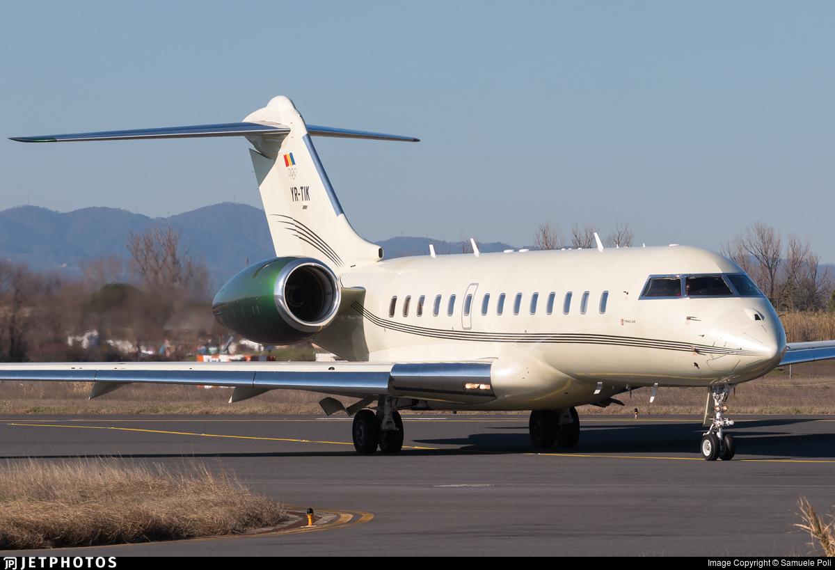 YR-TIK - Bombardier BD-700-1A11 Global 5000 - Tiriac Air