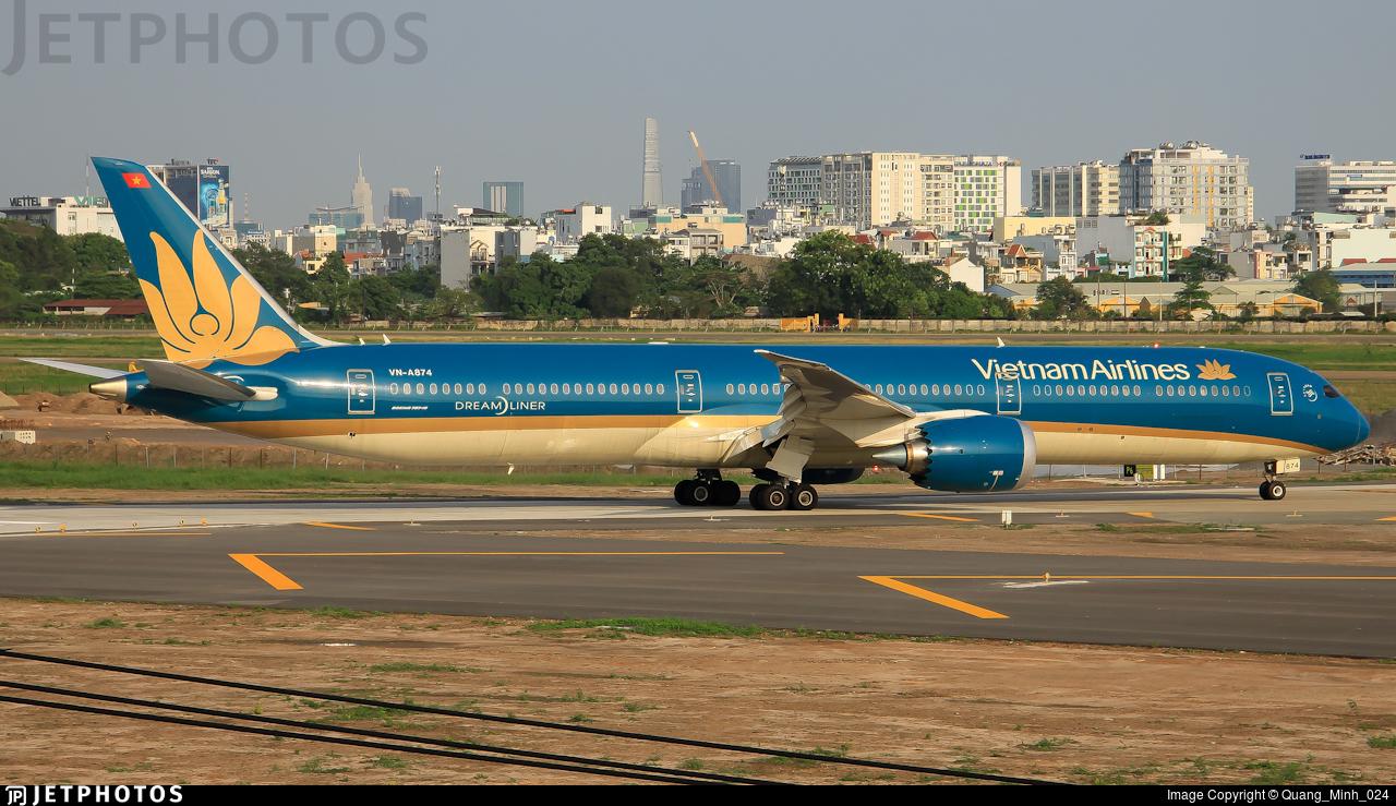 VN-A874 - Boeing 787-10 Dreamliner - Vietnam Airlines