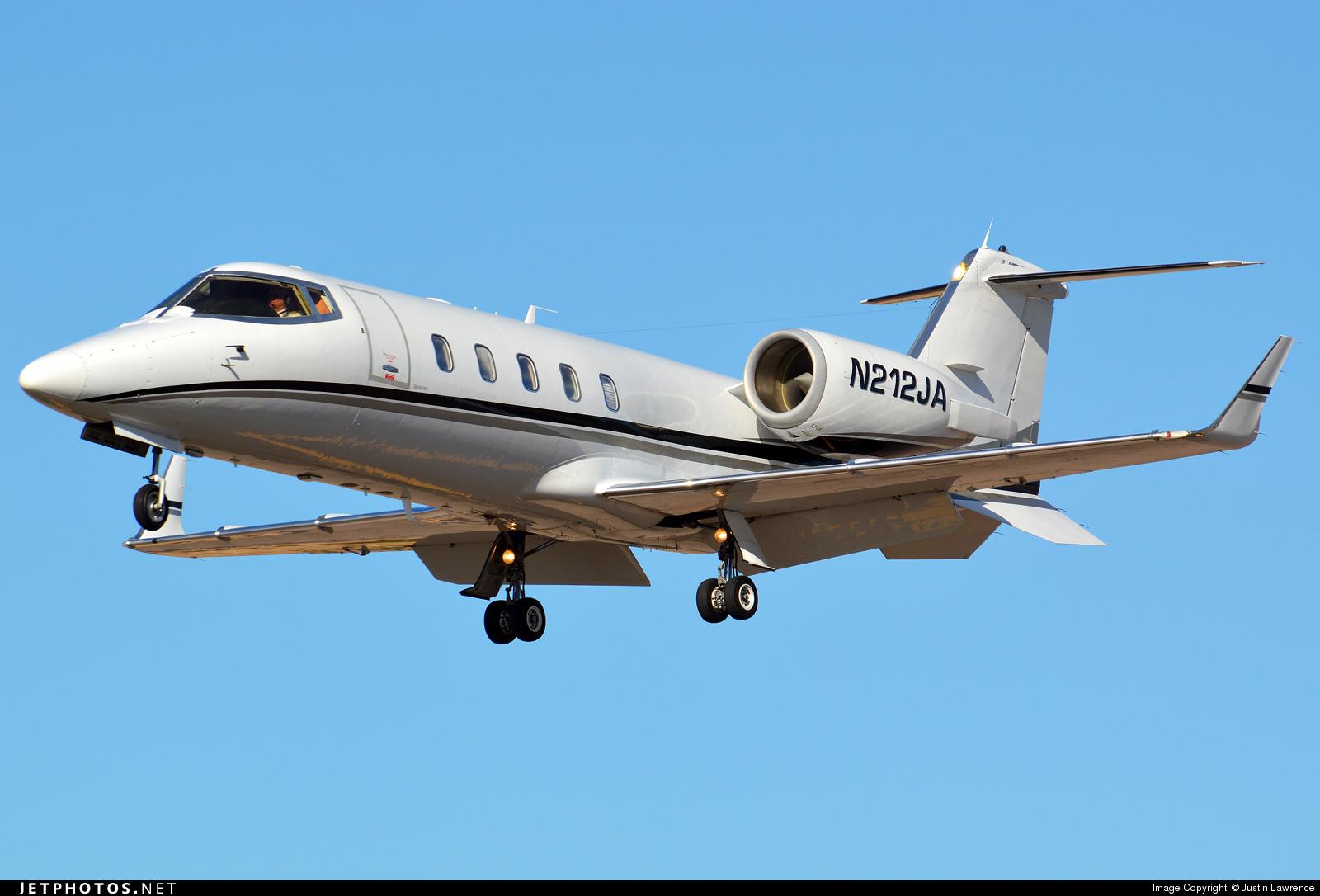 N212JA - Bombardier Learjet 60 - Private
