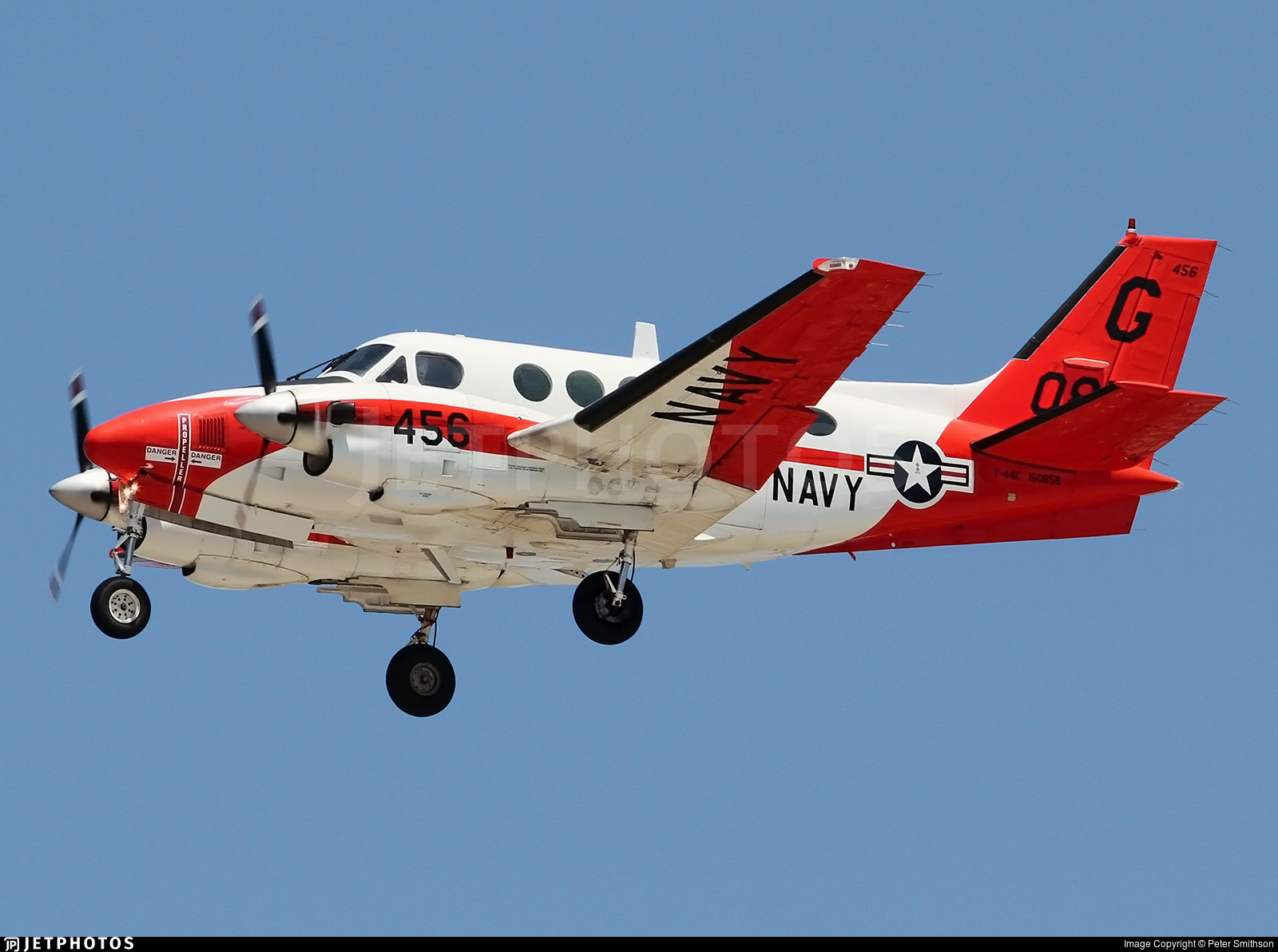 160856 - Beechcraft T-44C Pegasus - United States - US Navy (USN)