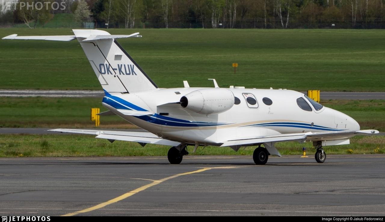 OK-KUK - Cessna 510 Citation Mustang - Private