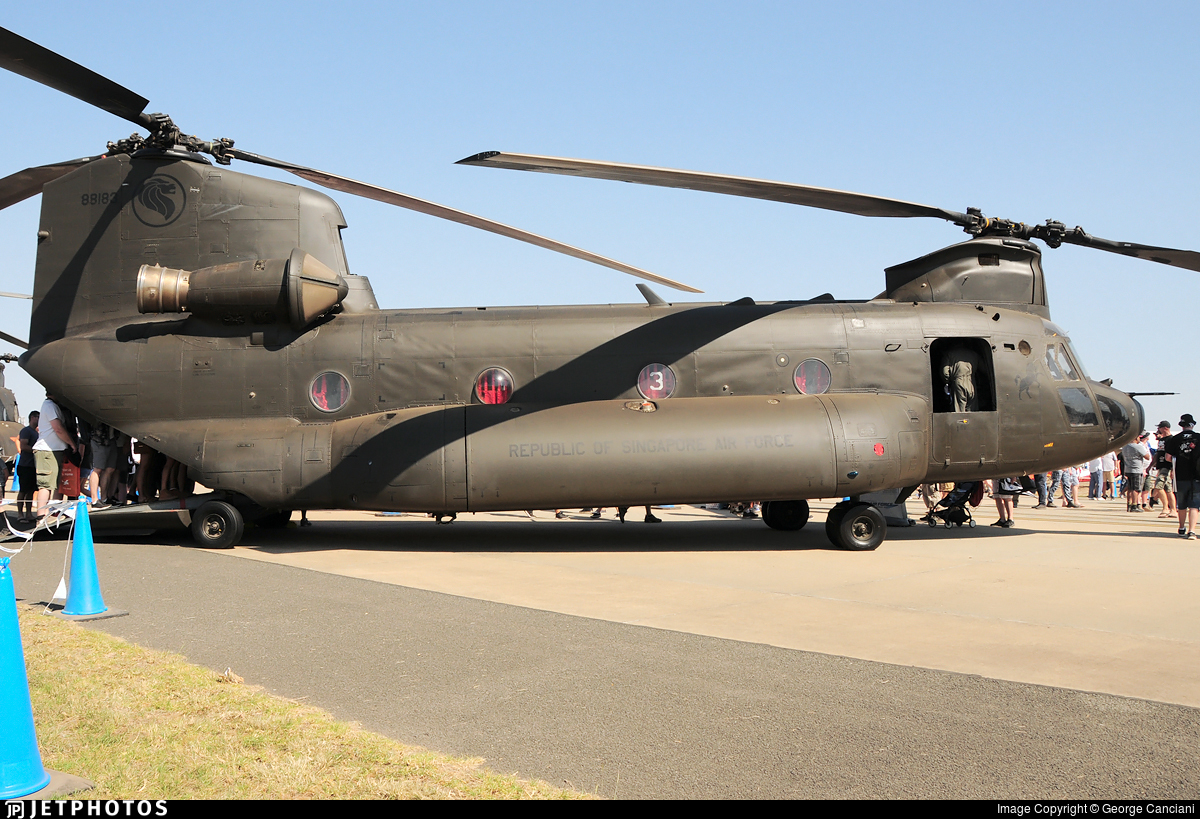 88183 - Boeing CH-47D Chinook - Singapore - Air Force