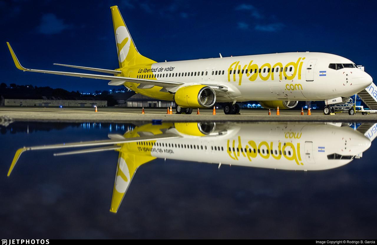 LV-HKN - Boeing 737-8Q8 - Flybondi