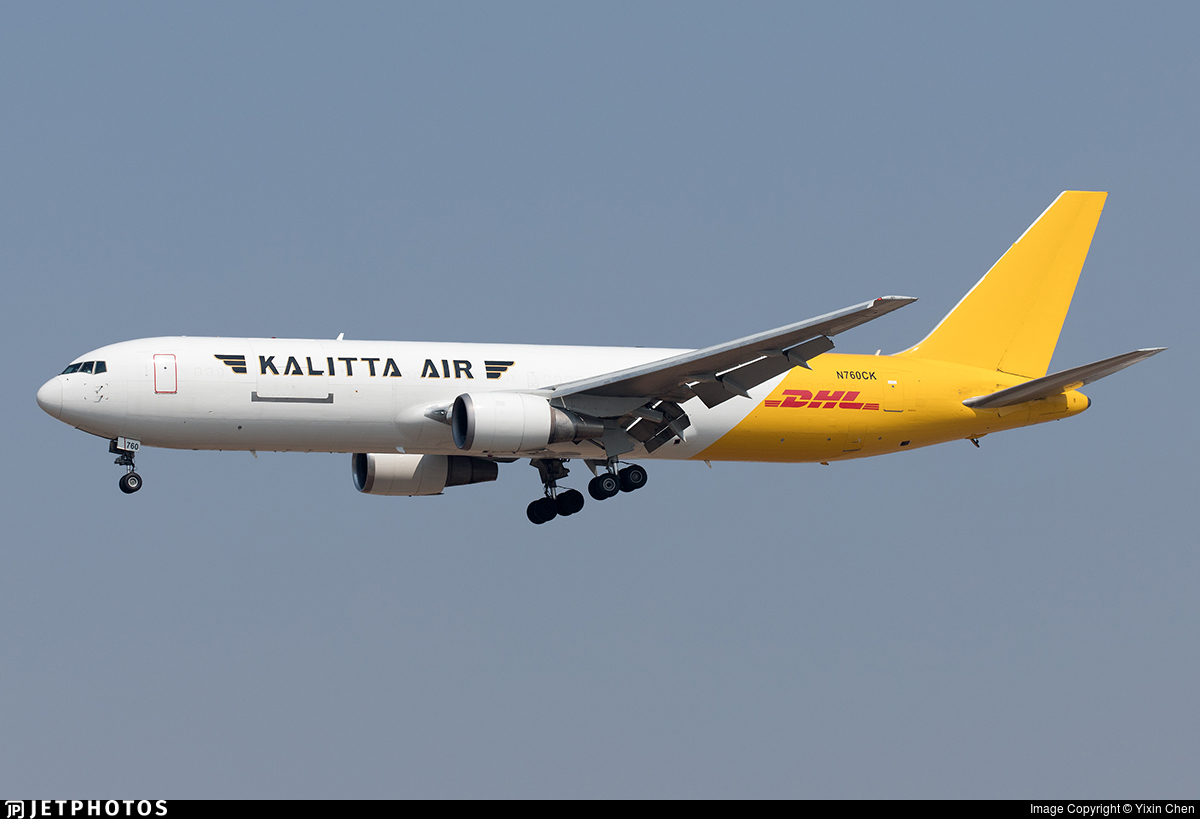 N760CK - Boeing 767-341(ER)(BDSF) - Kalitta Air