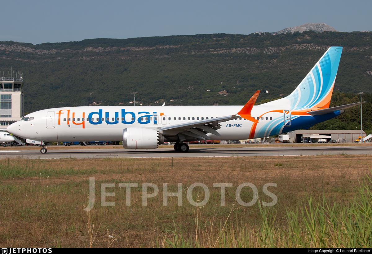 A6-FMC - Boeing 737-8 MAX - flydubai