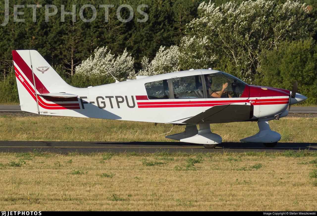 F-GTPU - Robin DR400/140B Major - Private