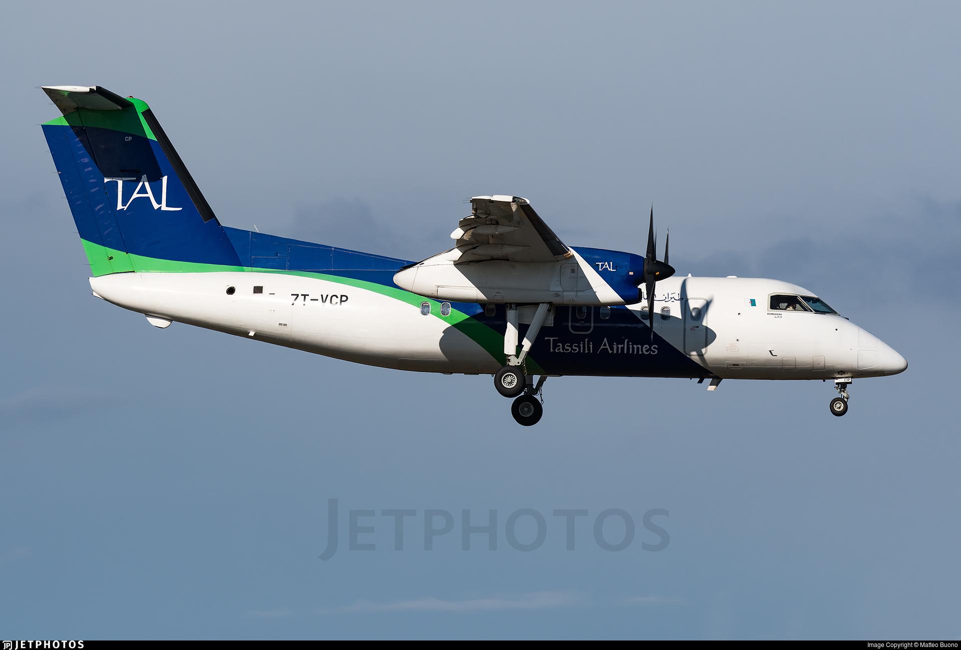 7T-VCP - Bombardier Dash 8-Q202 - Tassili Airlines