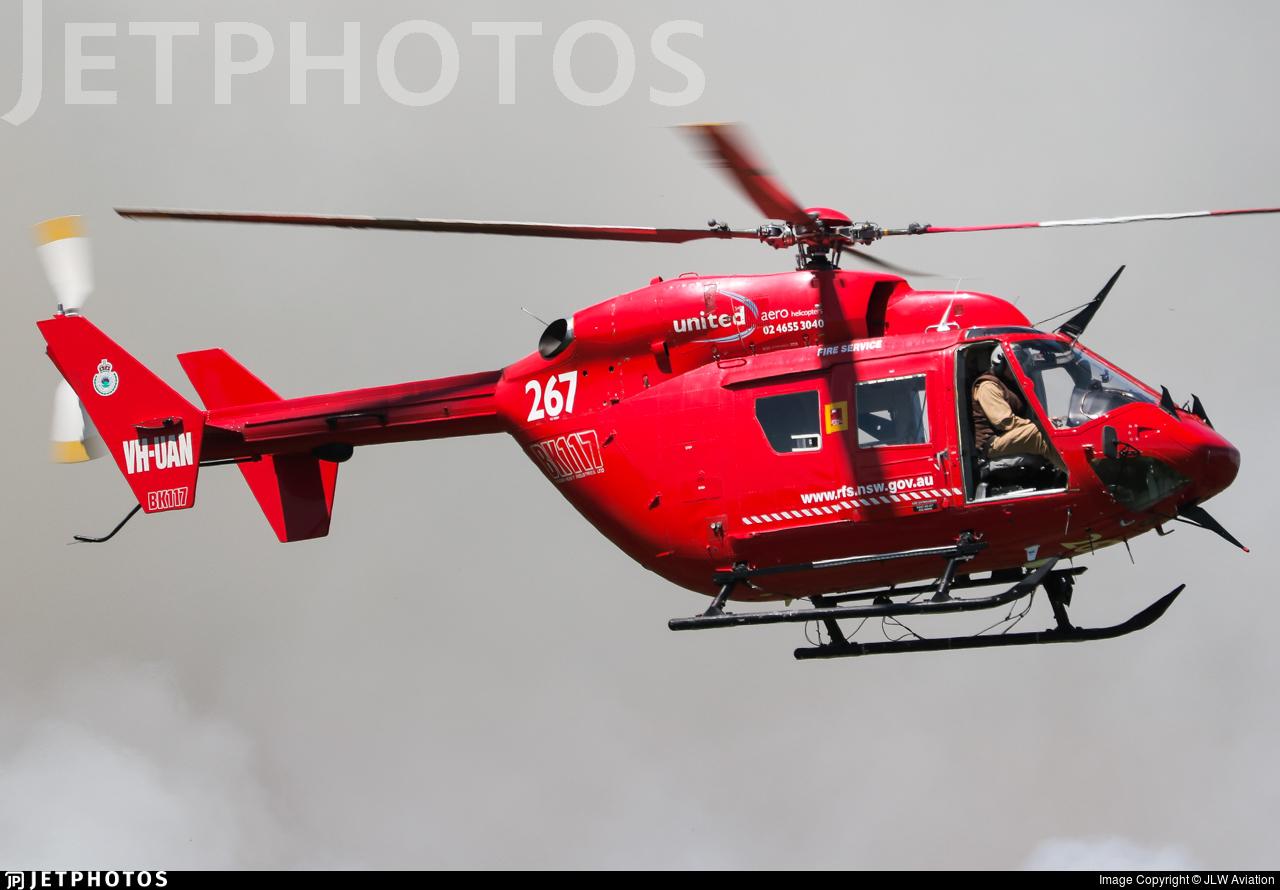 VH-UAN - MBB-Kawasaki BK117B-2 - United Aero Helicopters