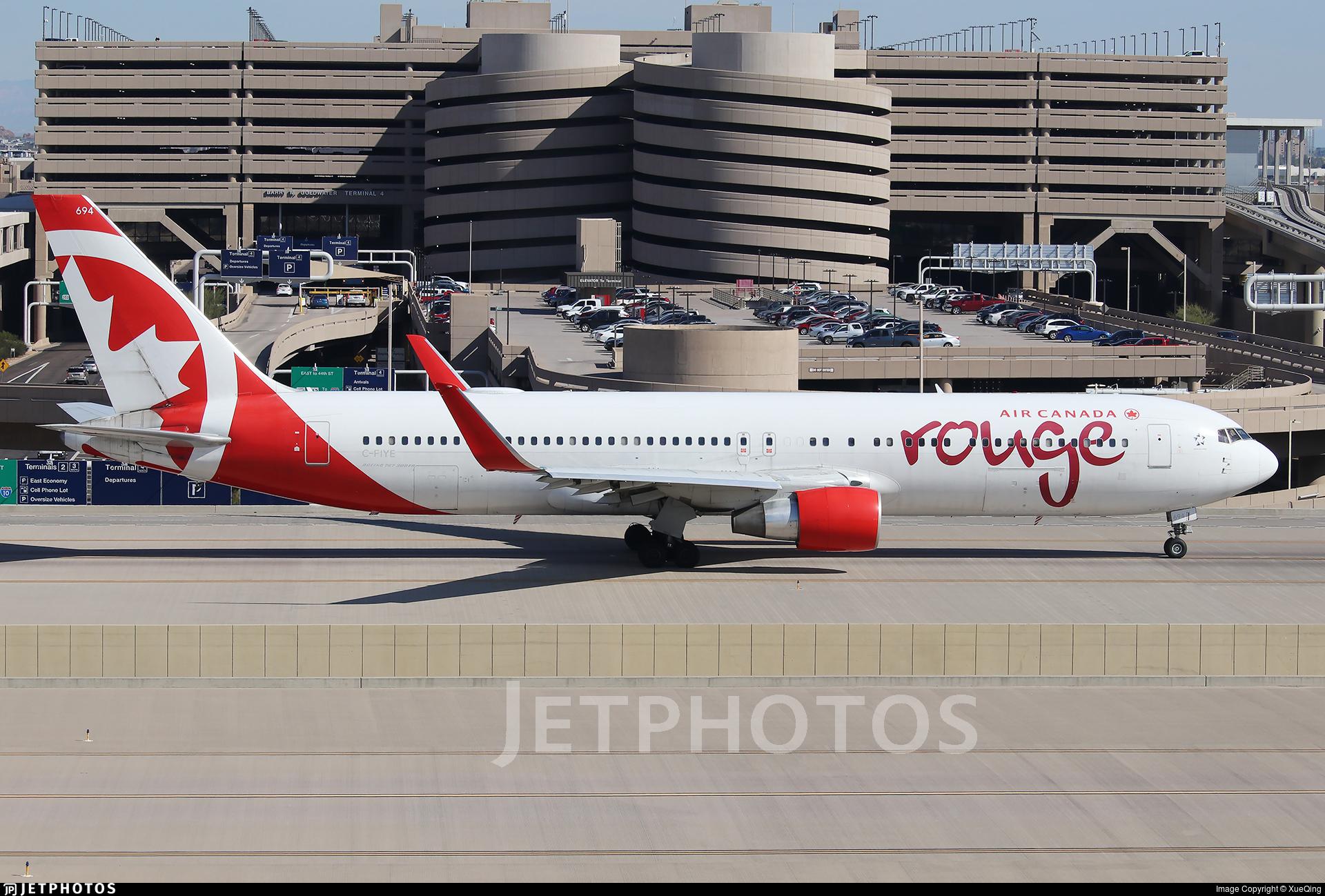 C-FIYE - Boeing 767-33A(ER) - Air Canada Rouge