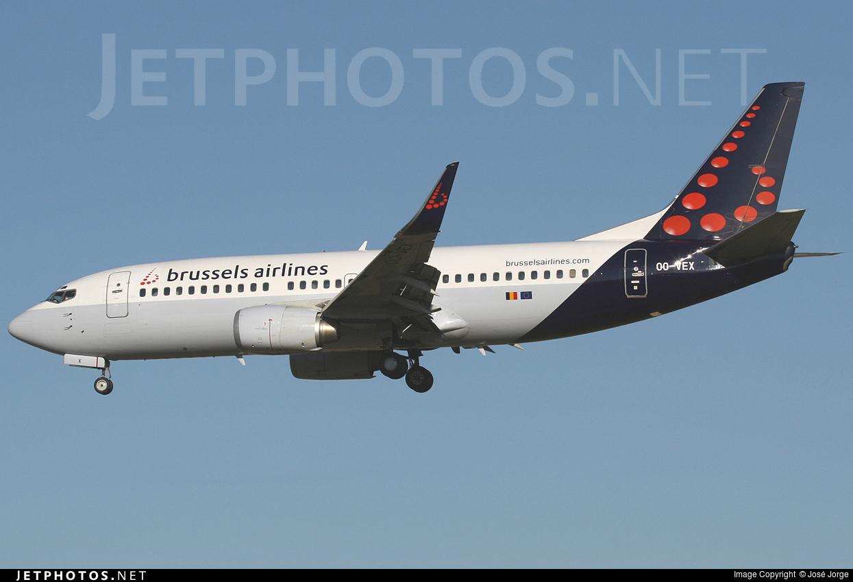 OO-VEX - Boeing 737-36N - Brussels Airlines