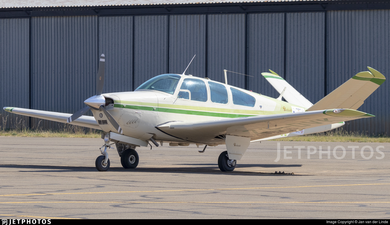 ZS-DVK - Beechcraft S35 Bonanza - Private