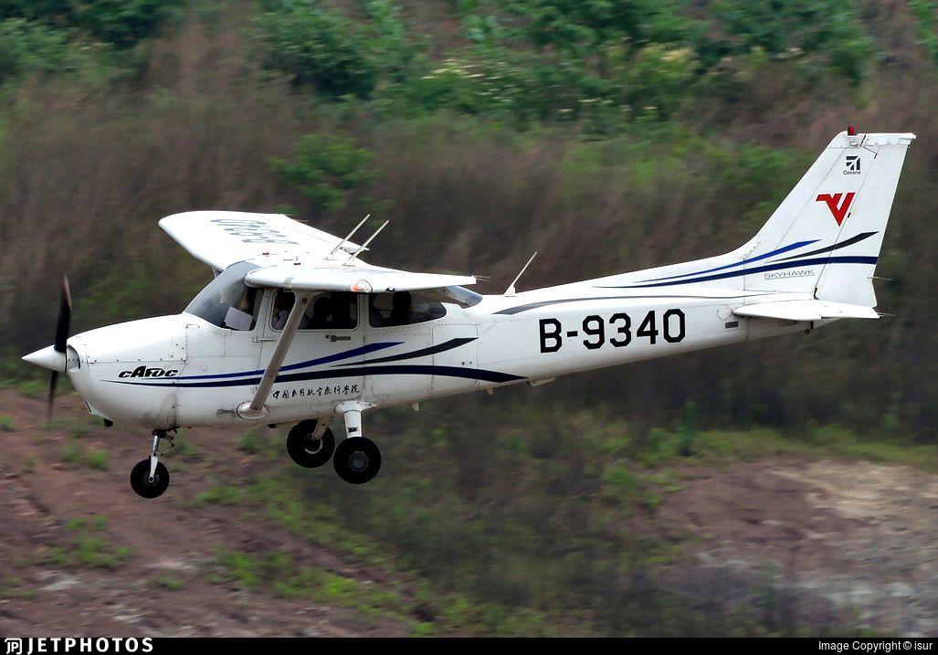 B-9340 - Cessna 172R Skyhawk - Civil Aviation Flight University of China