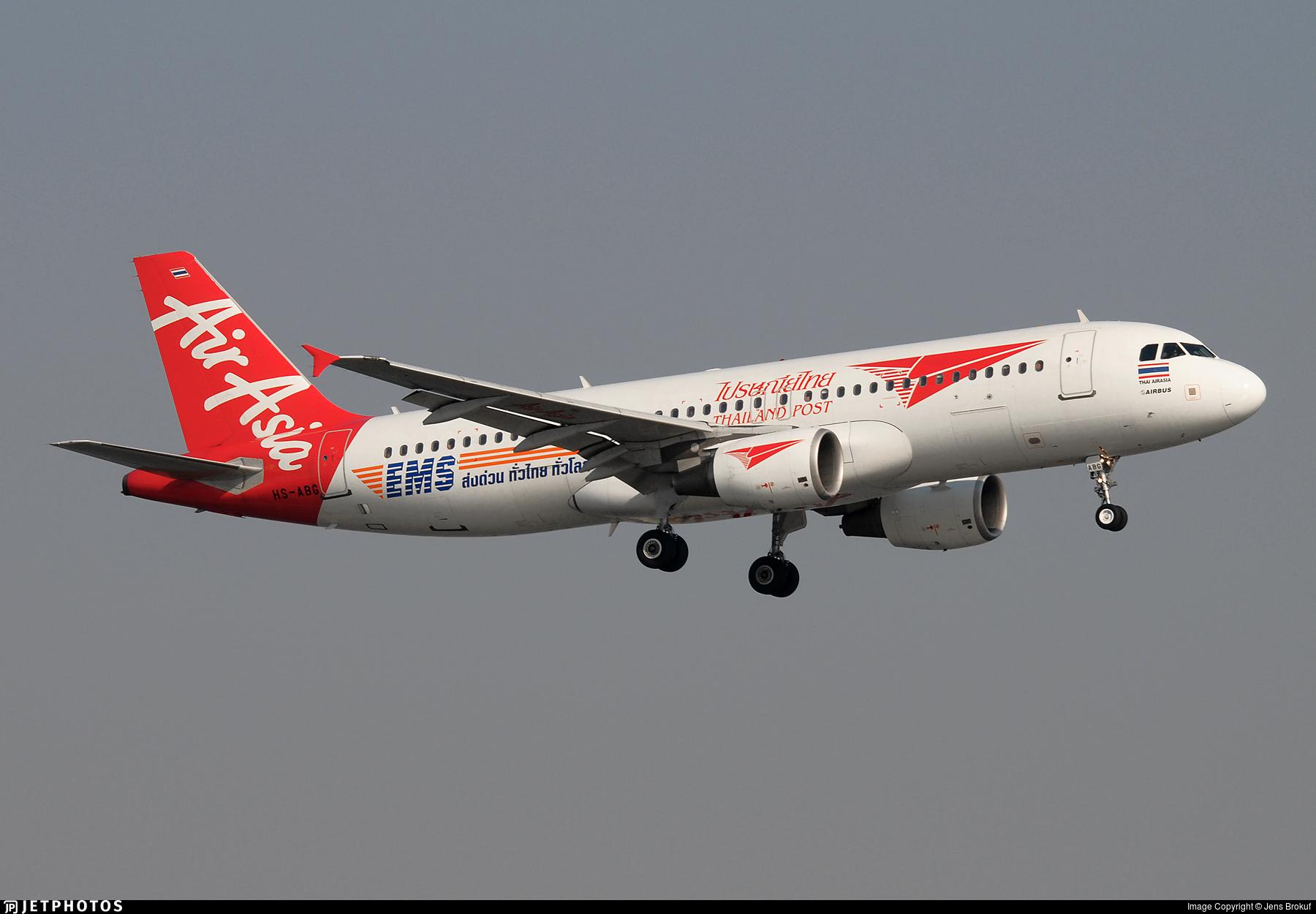HS-ABG - Airbus A320-216 - Thai AirAsia