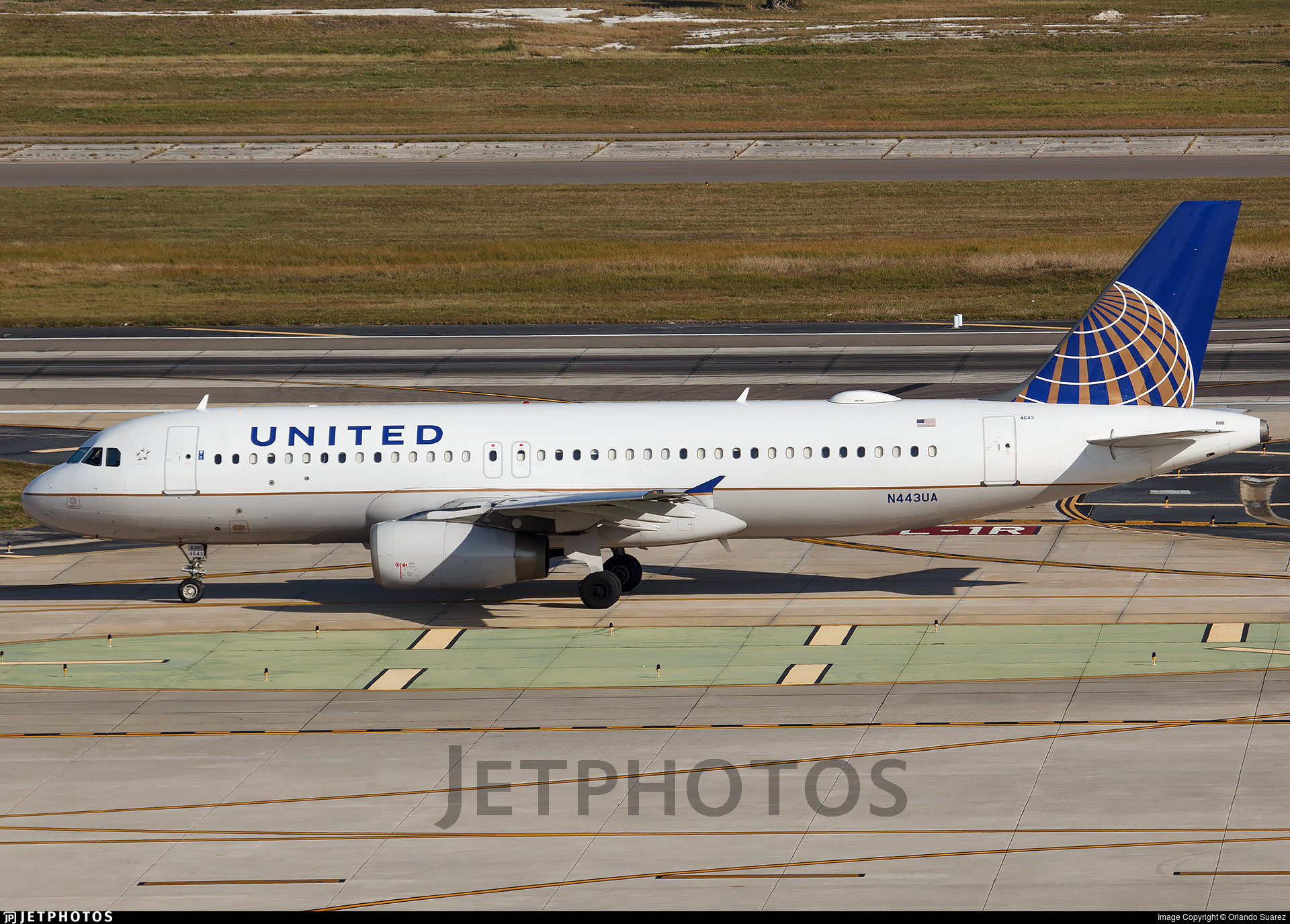N443UA - Airbus A320-232 - United Airlines