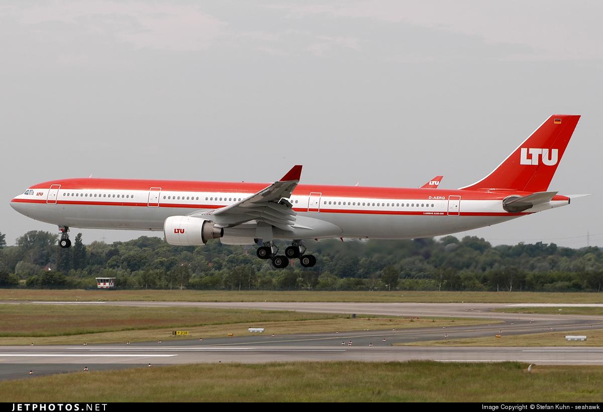 D-AERQ - Airbus A330-322 - LTU