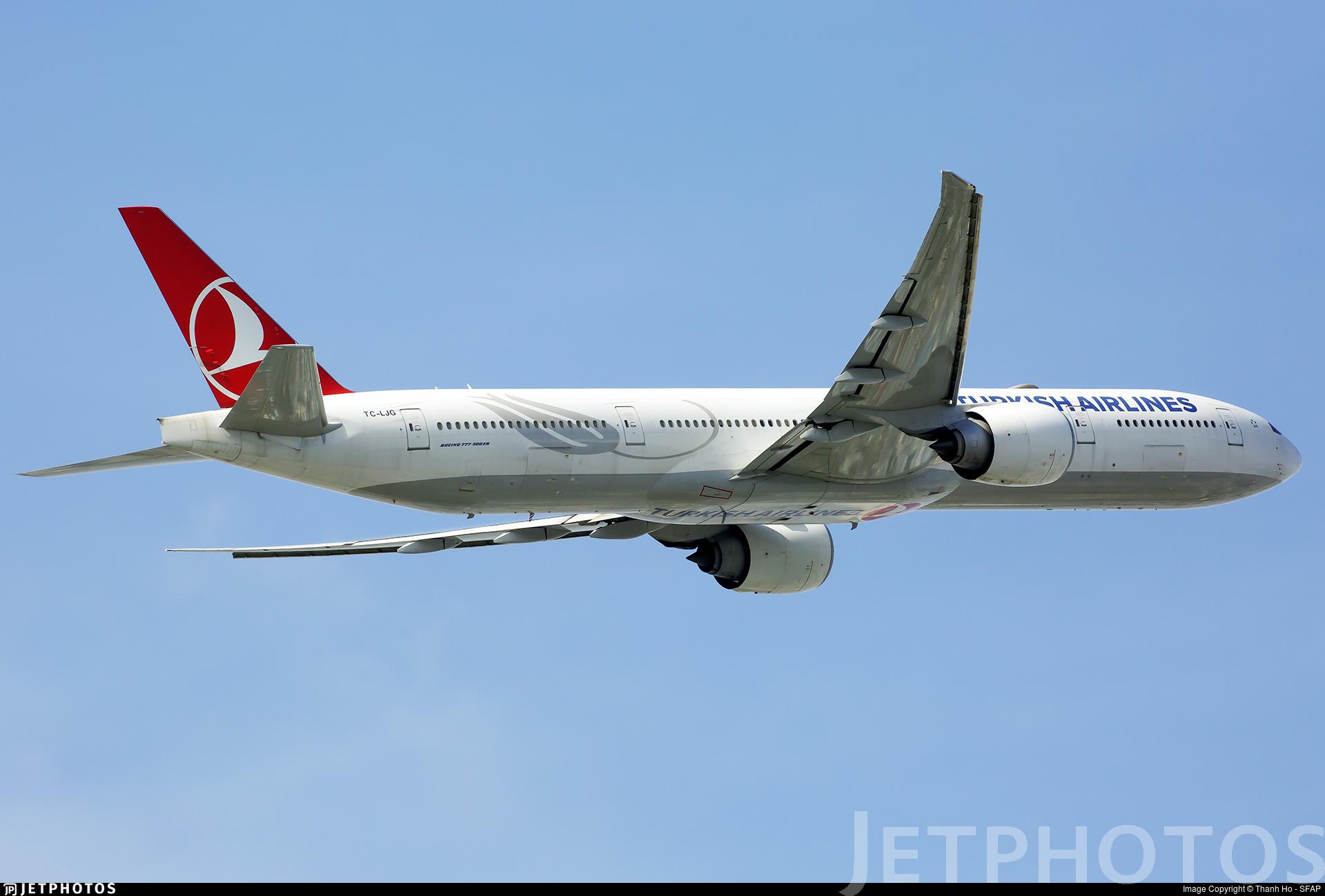 TC-LJG - Boeing 777-3F2ER - Turkish Airlines