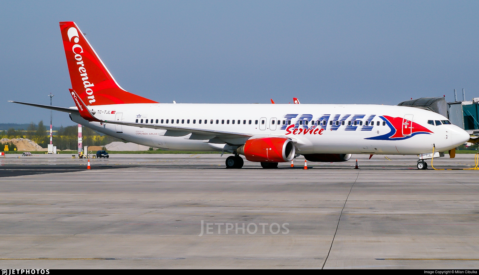 TC-TJL - Boeing 737-86J - Travel Service (Corendon Airlines)