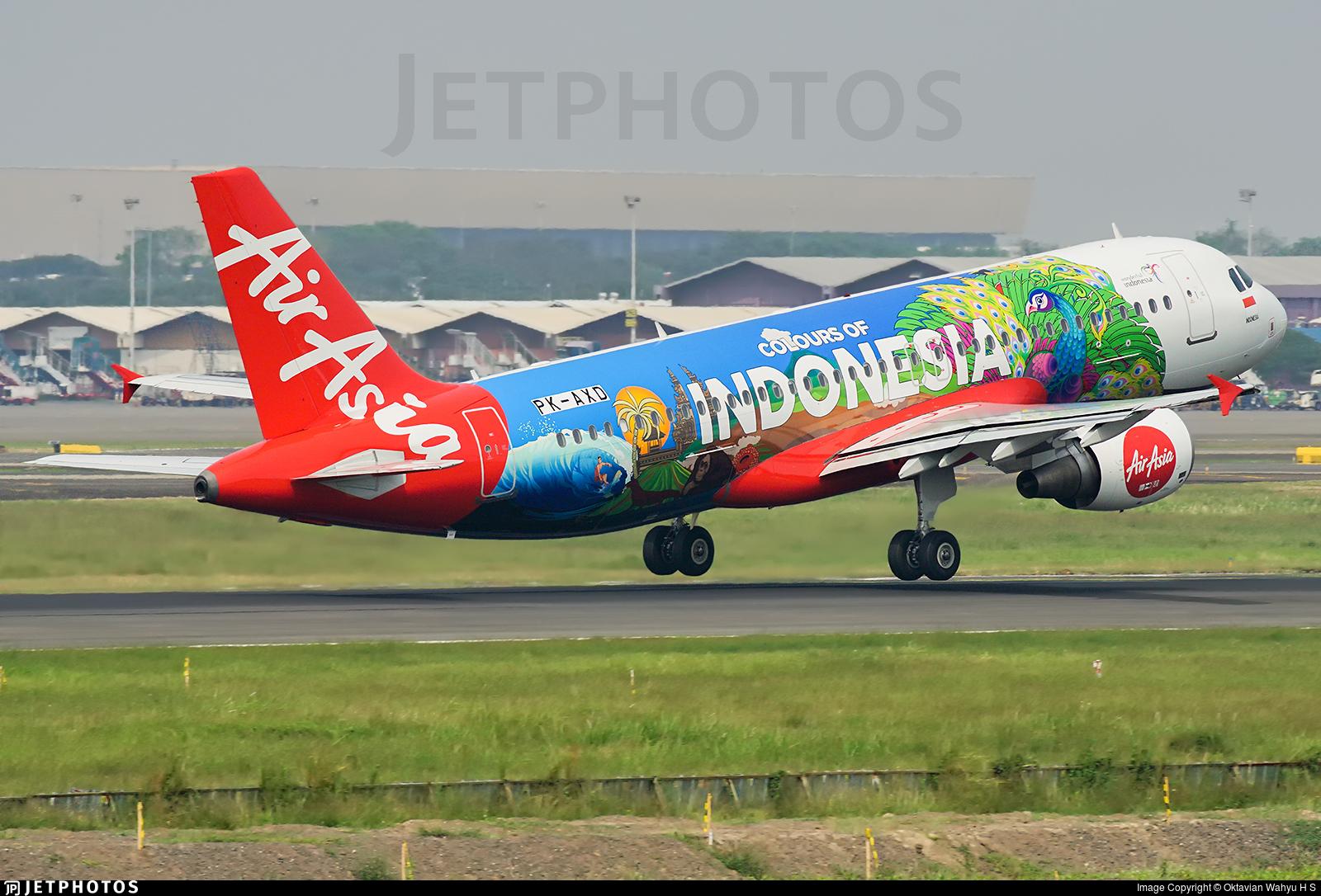 PK-AXD - Airbus A320-216 - Indonesia AirAsia