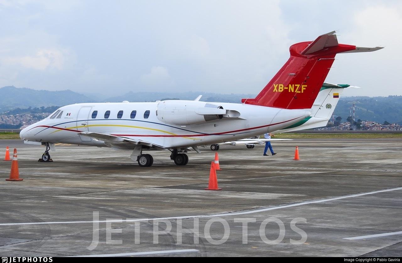 XB-NZF - Cessna 650 Citation III - Private