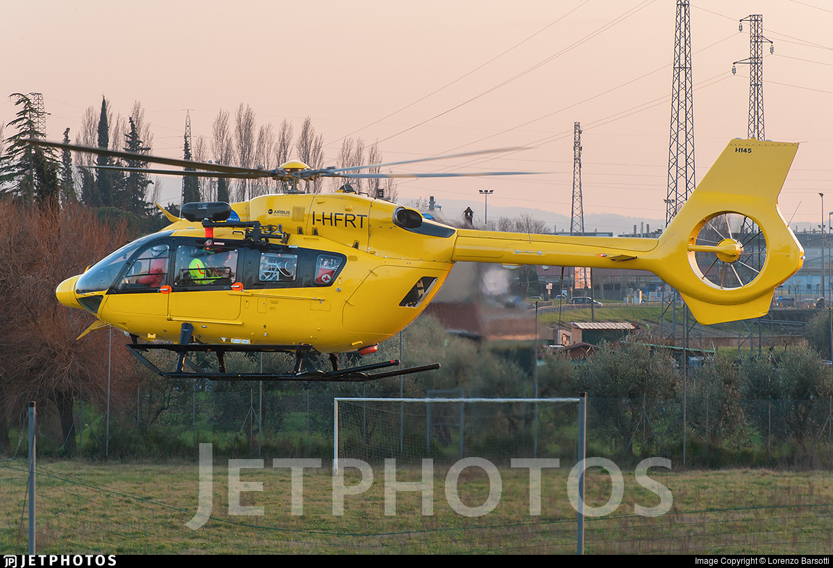 I-HFRT - Airbus Helicopters H145 - Babcock Italia
