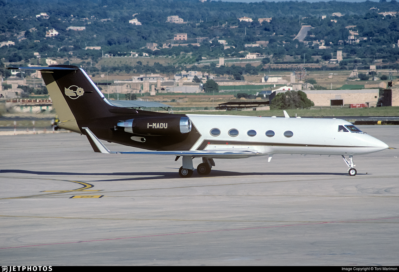 I-MADU - Gulfstream G-III - Private