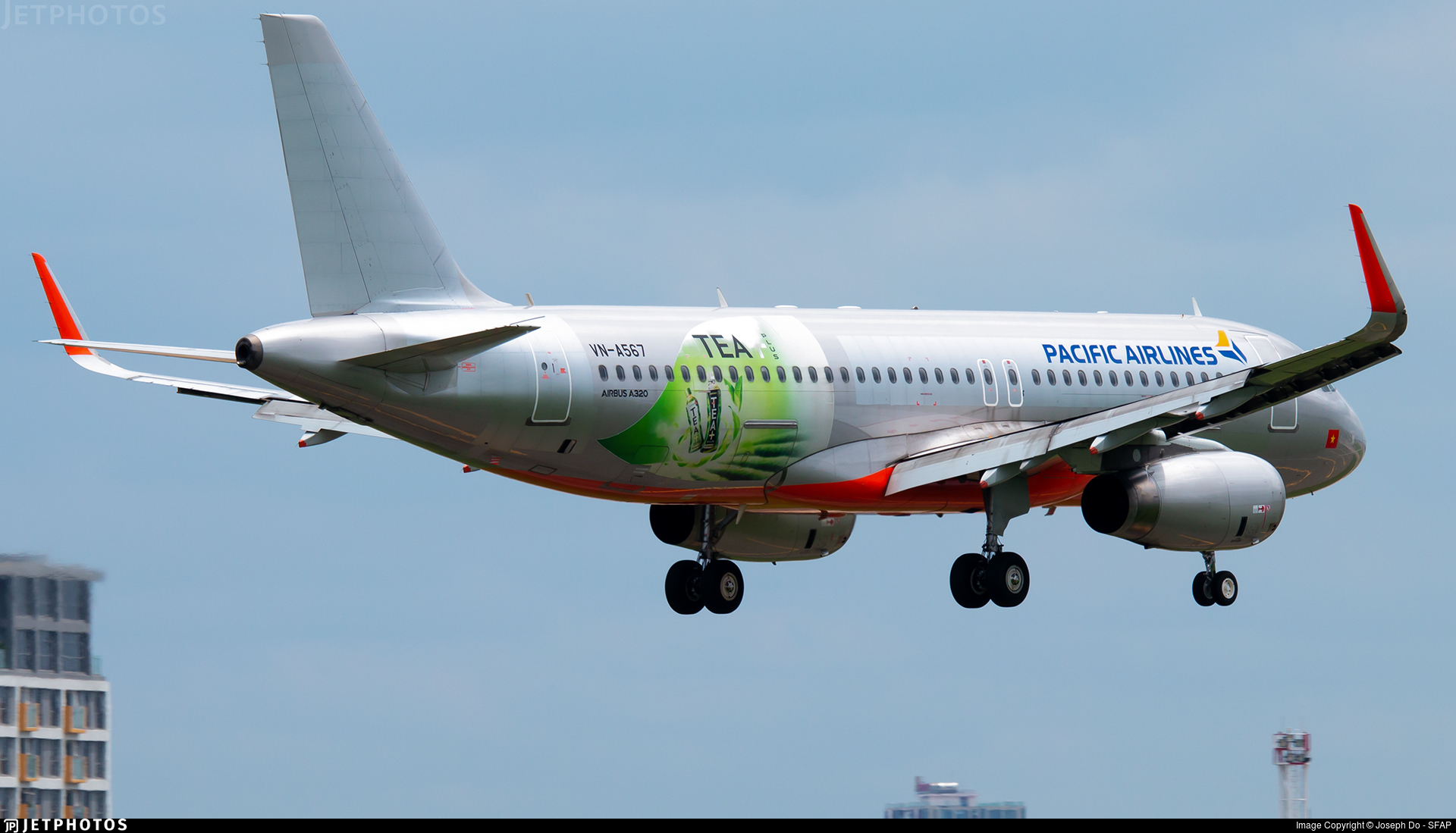 VN-A567 - Airbus A320-232 - Pacific Airlines