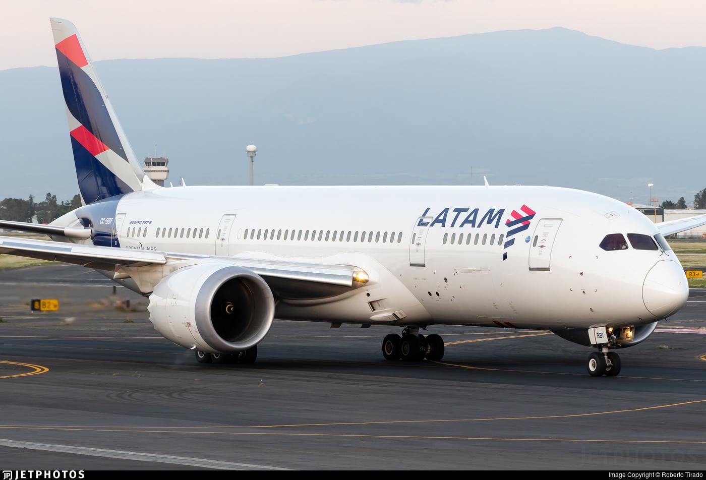 CC-BBF - Boeing 787-8 Dreamliner - LATAM Airlines