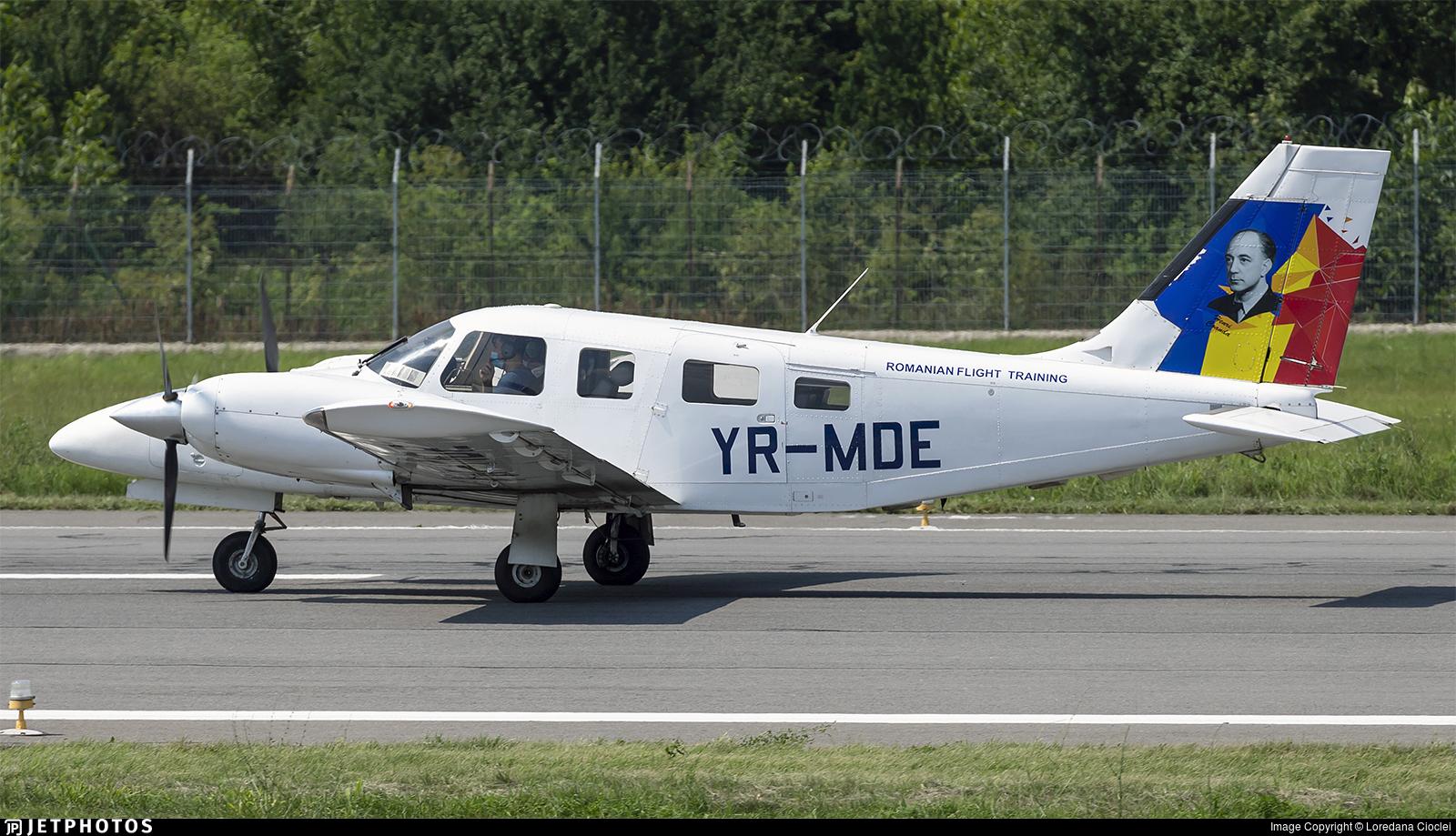 YR-MDE - Piper PA-34-220T Seneca V - Romanian Aviation Academy
