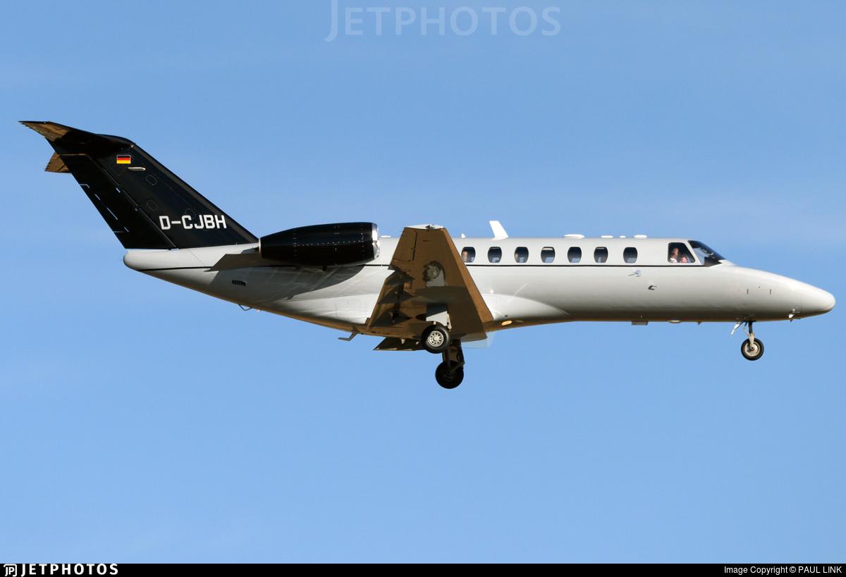 D-CJBH - Cessna 525 Citationjet CJ3 - Private