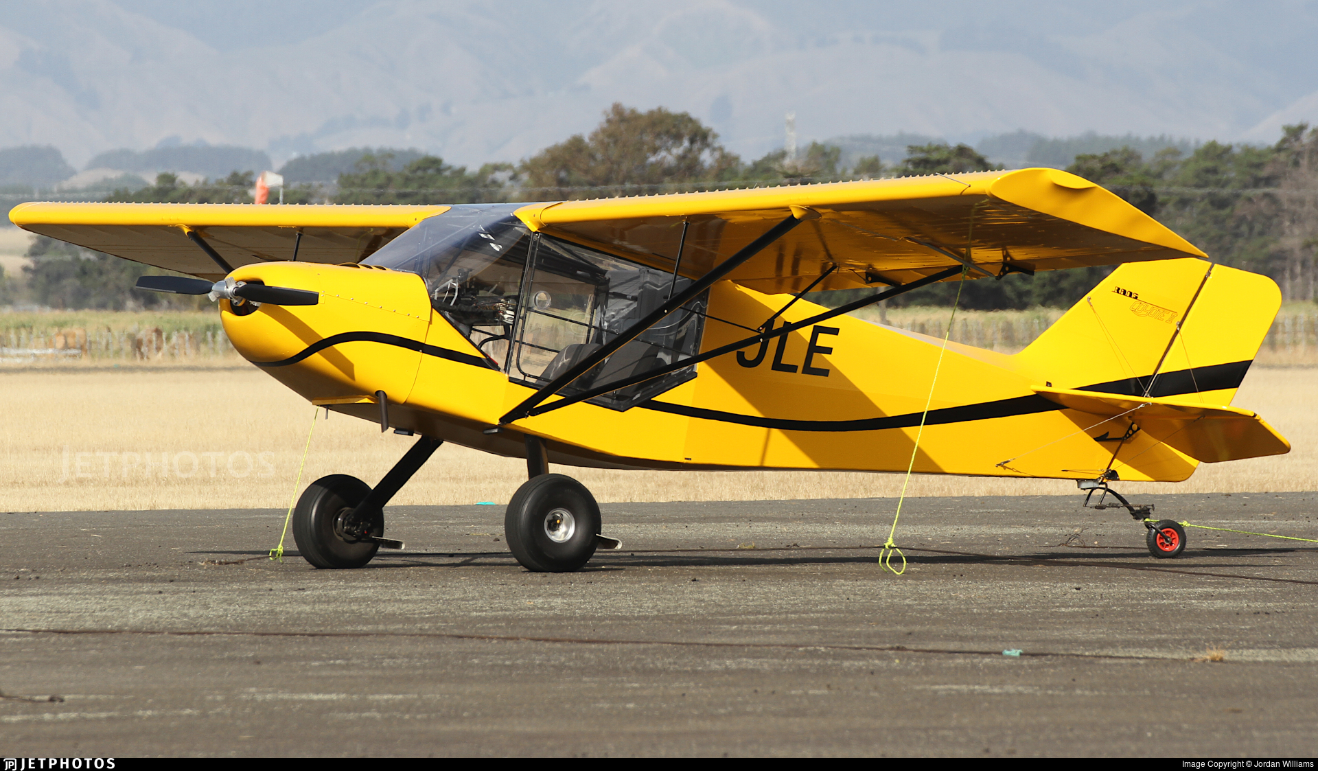 ZK-JLE - Rans S-6ES Coyote II - Private