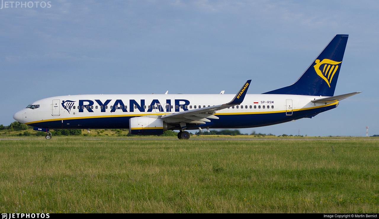 SP-RSM - Boeing 737-8AS - Ryanair Sun