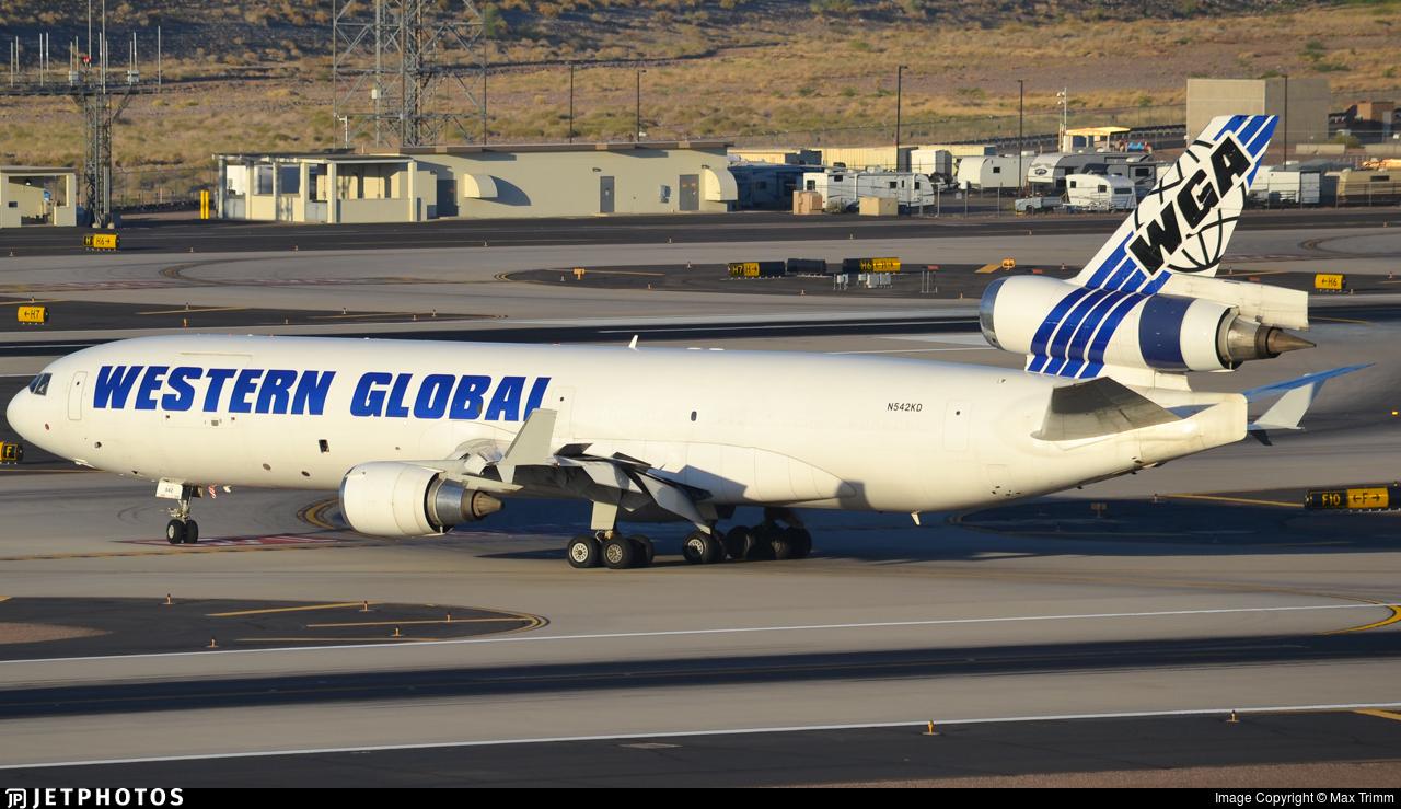 N542KD - McDonnell Douglas MD-11(F) - Western Global Airlines
