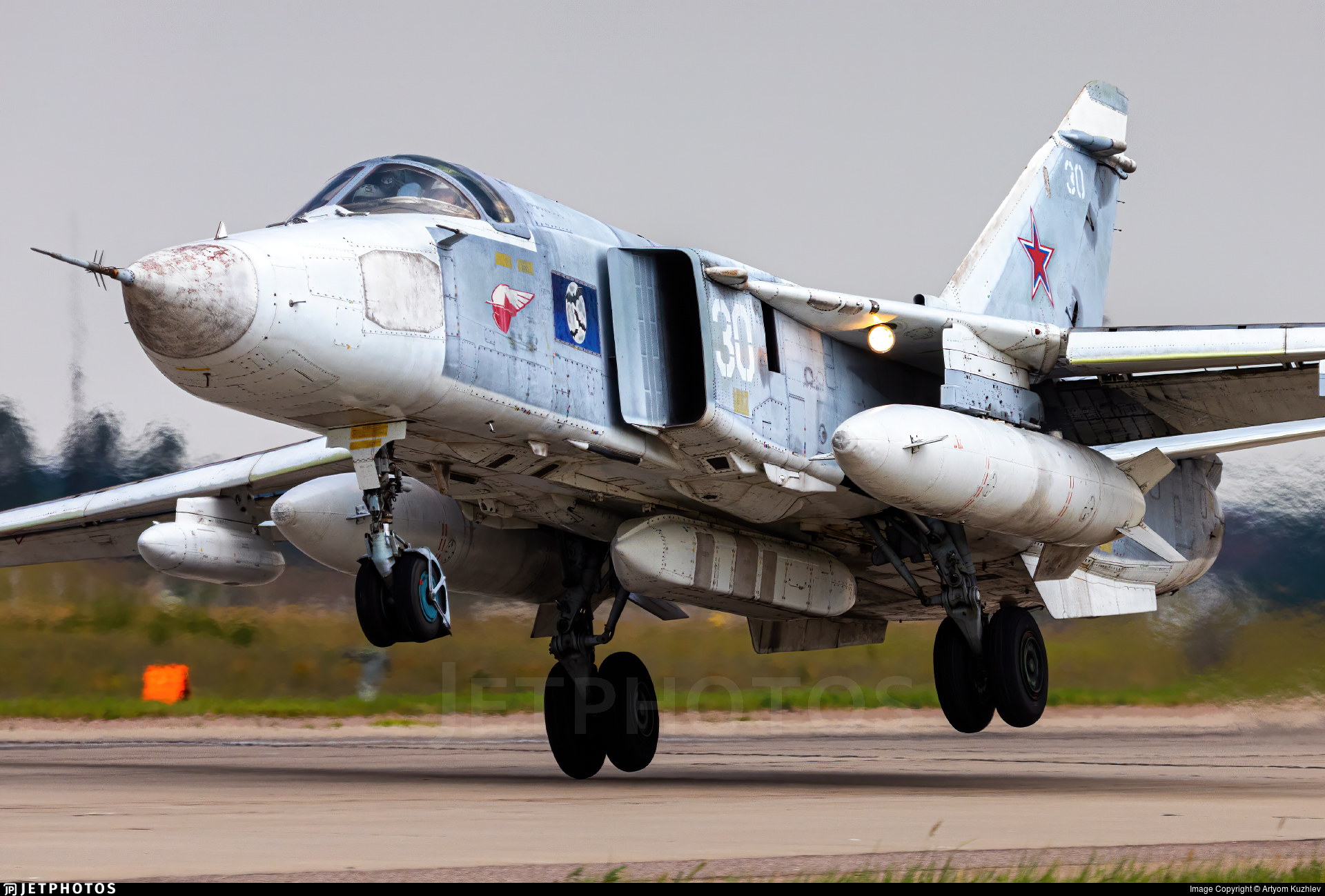 RF-33778 - Sukhoi Su-24MR Fencer E - Russia - Navy
