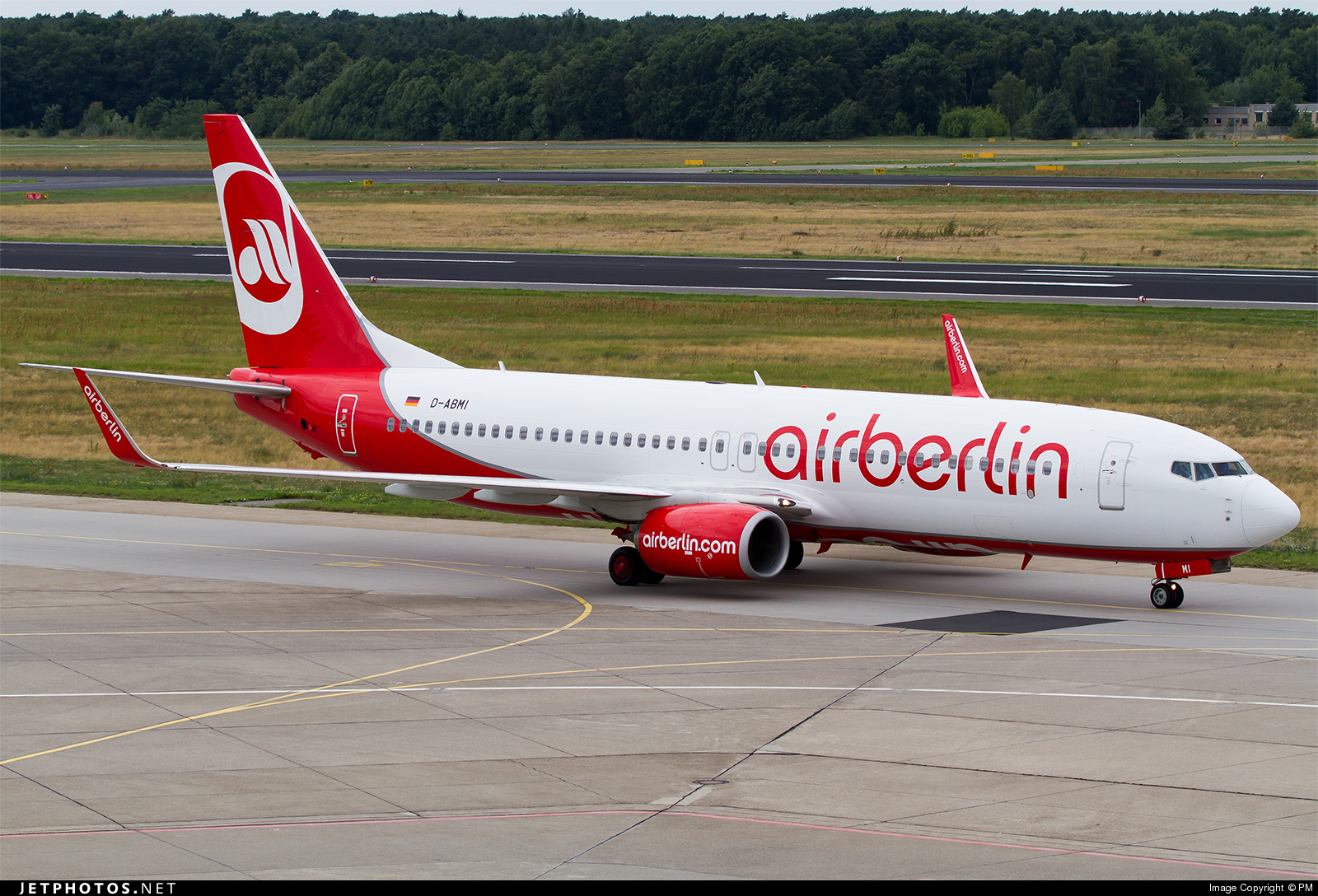 D-ABMI - Boeing 737-86J - Air Berlin