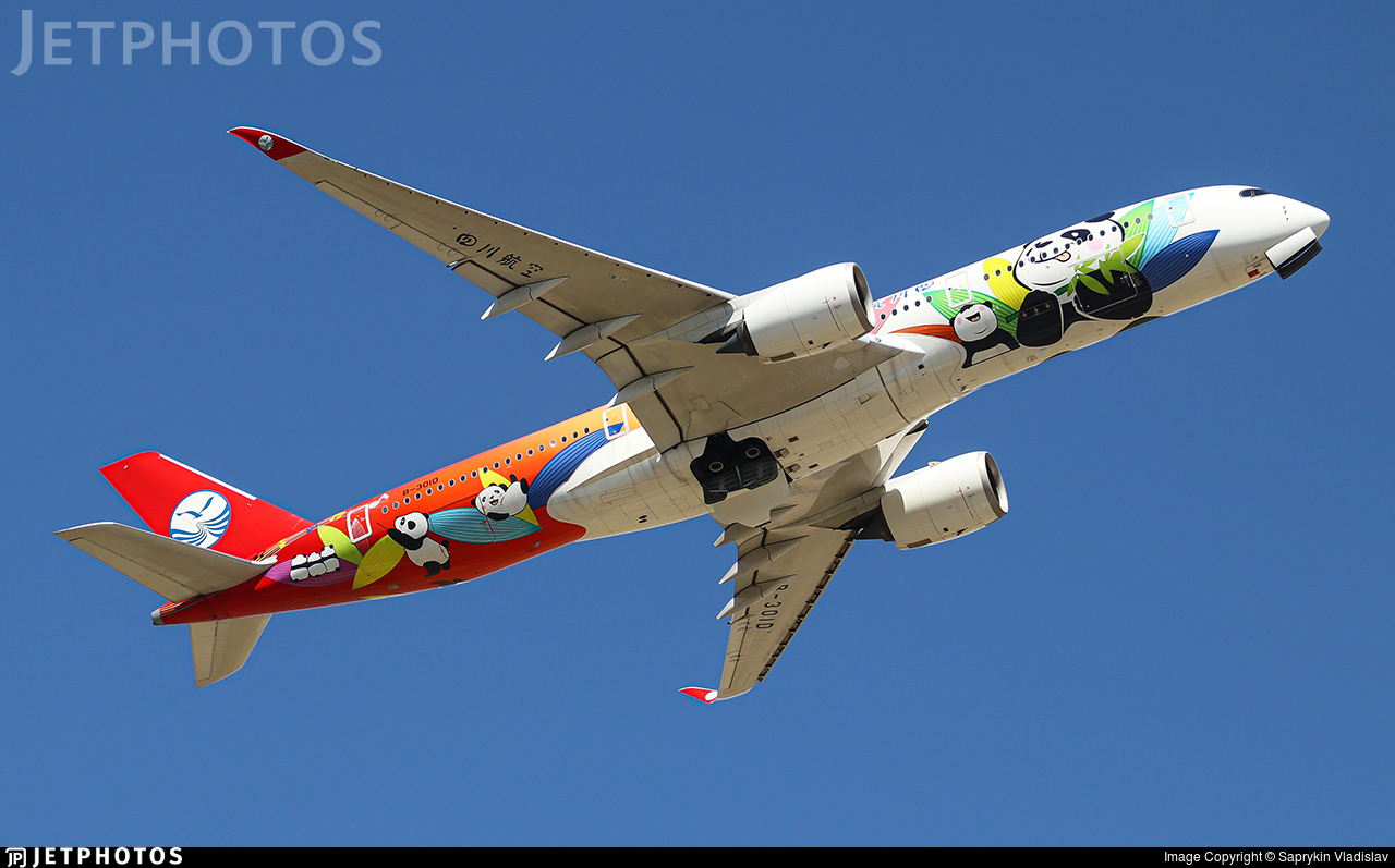 B-301D - Airbus A350-941 - Sichuan Airlines
